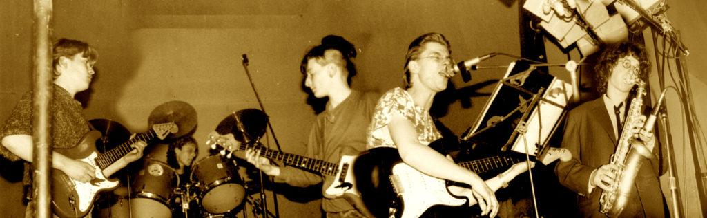 Die Band Reininghaus aus Leipzig 1987