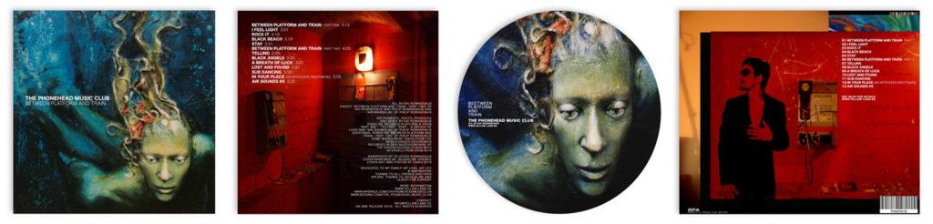 "Das Artwork des Albums ""Between Platform and Train"""