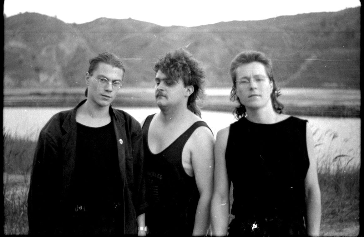 Real Deal - Fotosession im Tagebau: Das Bild wurde später als Hintergrund für die Konzert-Plakate der Band benutzt.