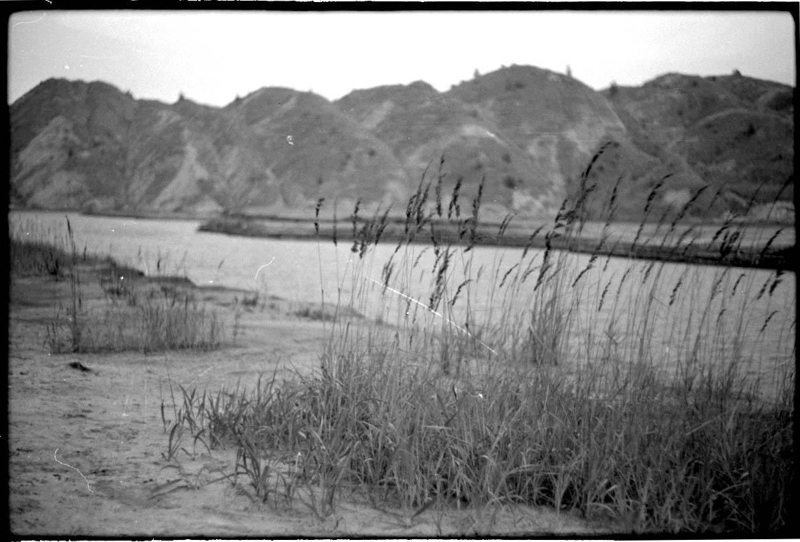 Real Deal - Fotosession im Tagebau: Seen und Berge - ein bißchen Highlands-Flair inklusive.