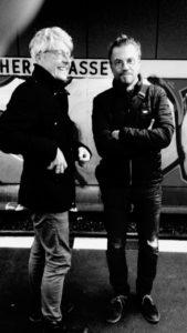 Berlin 2018: Kaiman und Cairo reden über alte Zeiten. Foto: Felicitas Reininghaus