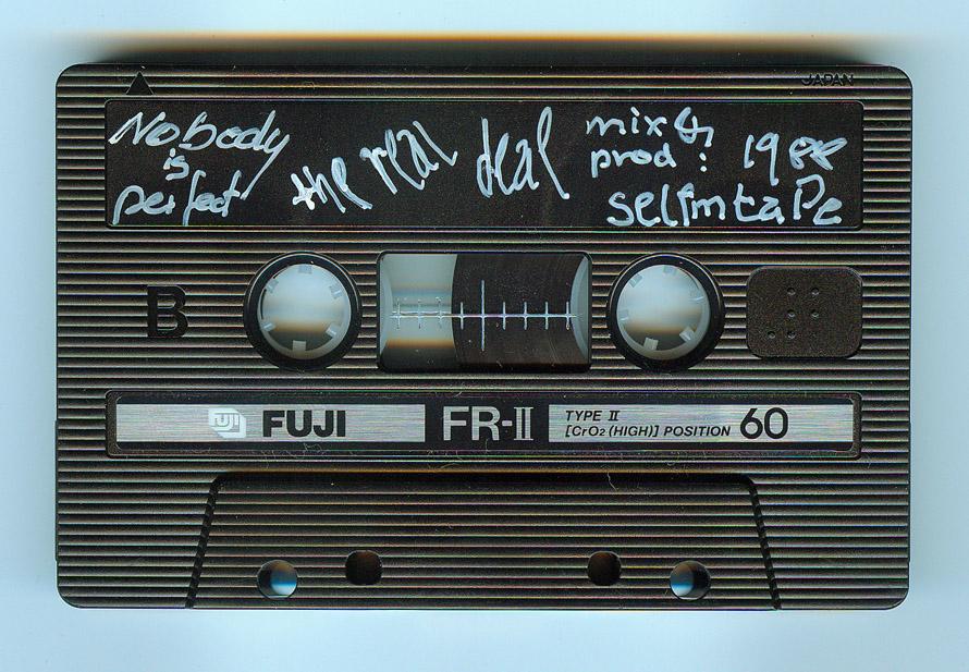 """Das original Aufnahmetape zu """"Nobody Is Perfect - eine 60 Minuten Chrom-Kassette aus dem Wester!"""