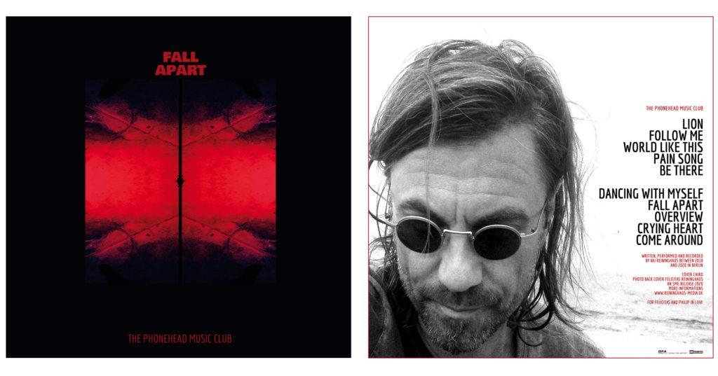 Albumcover FALL APART by PMC (c) kai reininghaus